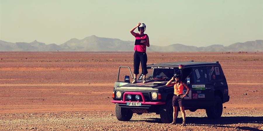 Formation orientation et conduite dans le désert  - LesCop's - Roses des Sables 2017