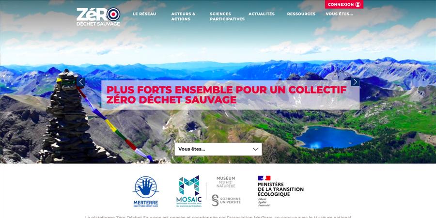 Zéro Déchet Sauvage : une plateforme pour la protection de la biodiversité - MerTerre