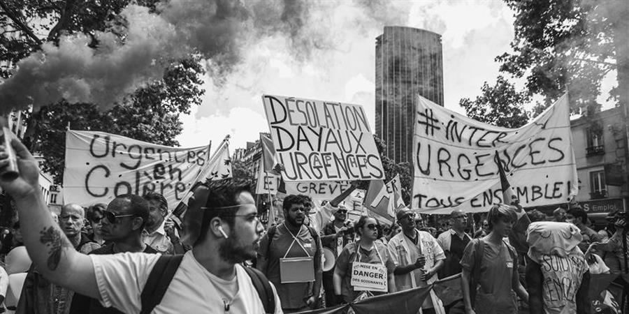 La mobilisation continue - Collectif Inter Urgences