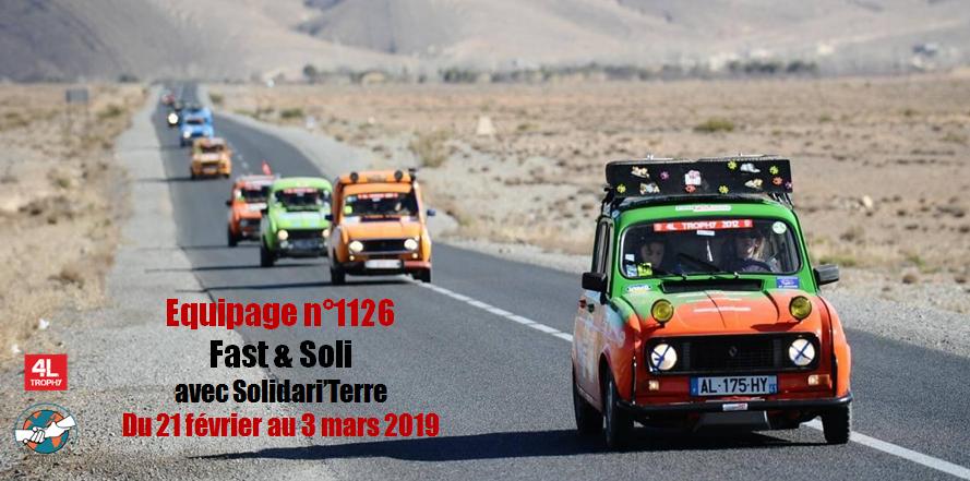4L Trophy 2019 - Solidari'Terre - Solidari'terre