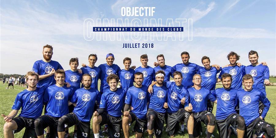 Les Tchacs aux WUCC 2018 à Cincinatti - Tchac cote d'l'eau