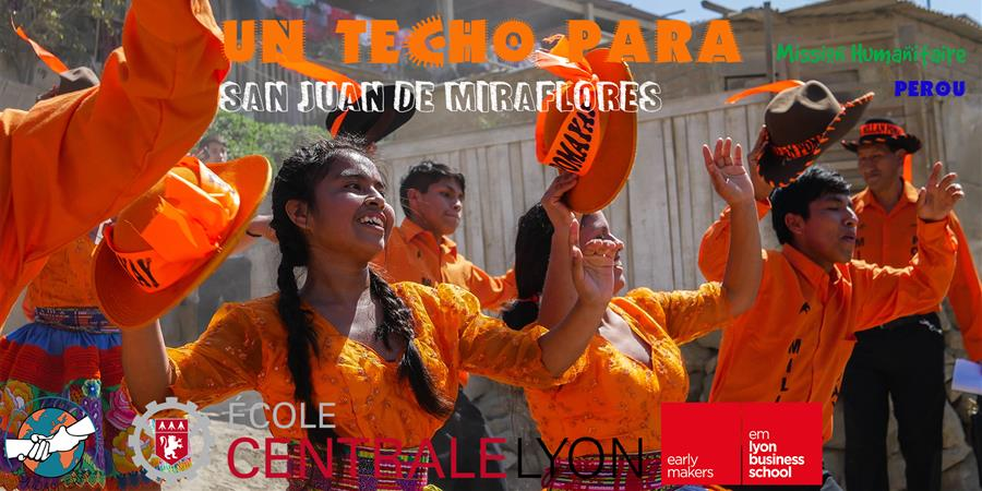 Un Techo para San Juan de Miraflores - Projet Pérou 2018 - Solidari'terre