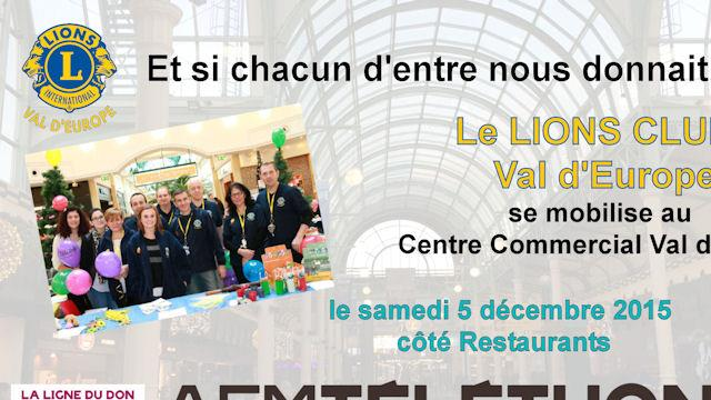 TELETHON 2015 - LIONS CLUB MAGNY LE HONGRE VAL D'EUROPE
