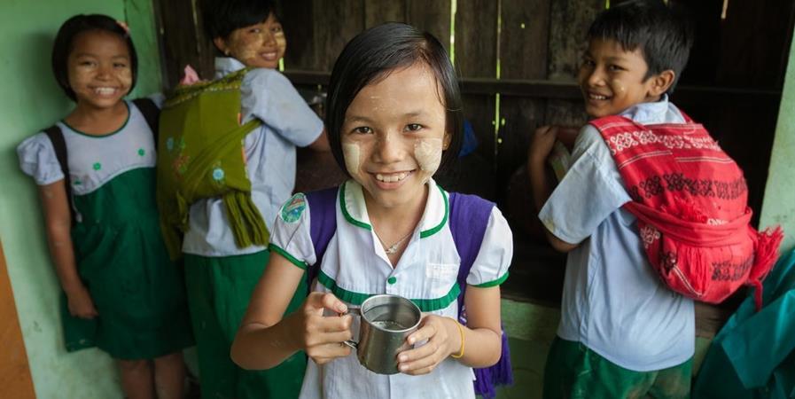 De l'eau gratuite pour 3 écoles en Birmanie - Vision du Monde