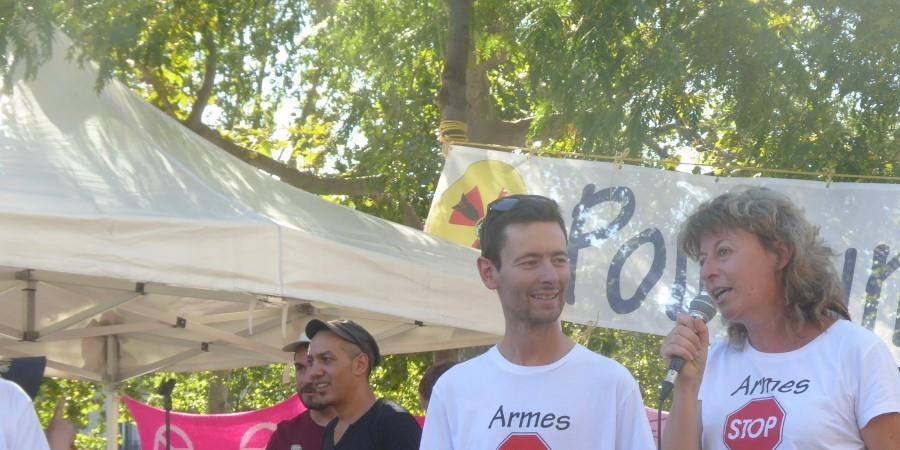Soutien aux 2 pacifistes condamnés pour des autocollants - La Boite Militante