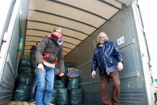 achat de kms pour le transport des collectes - Solidarité Réfugiés Centre Bretagne