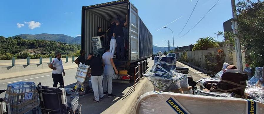 Envoi de matériel médical en TUNISIE et en SYRIE - ASSOCIATION UN GESTE POUR TOUS