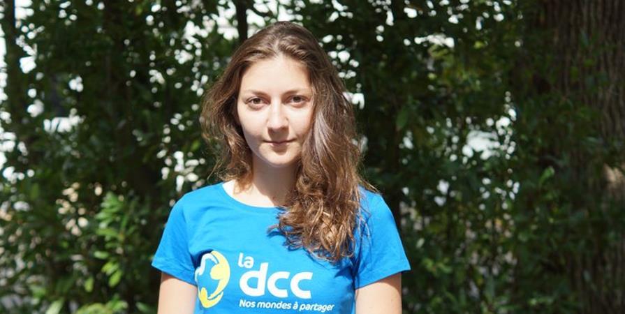 Adeline, chargée de recherche de fonds - Délégation Catholique pour la Coopération