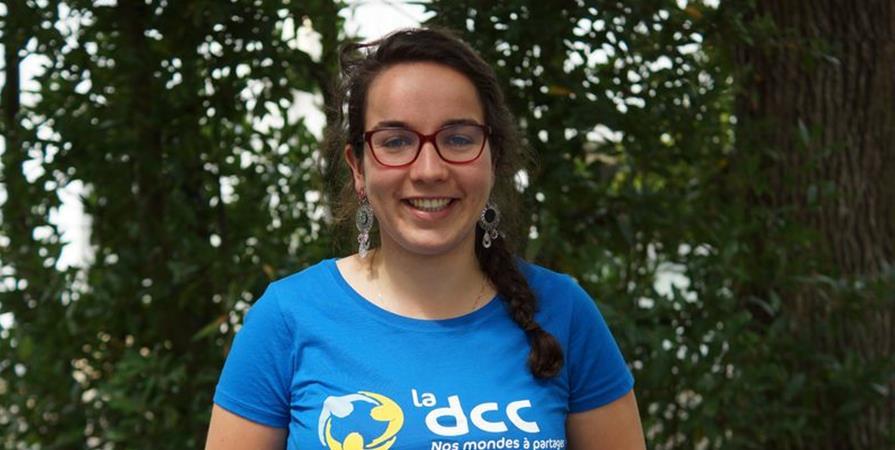Bérénice, enseignante de sciences en Guinée Conakry - Délégation Catholique pour la Coopération