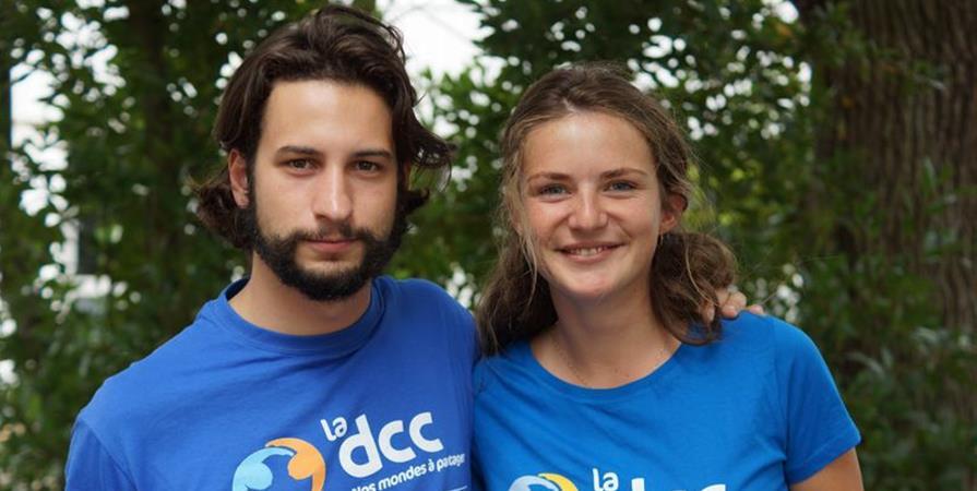 Mathilde et Ludovic, psychomotricienne et menuisier à Jérusalem - Délégation Catholique pour la Coopération