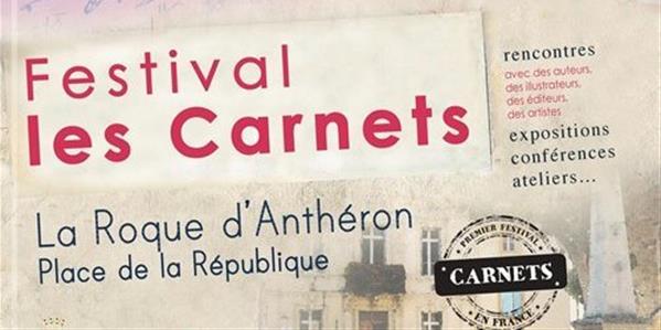 Le premier Festival sur le thème des Carnets  - Association Les Carnets