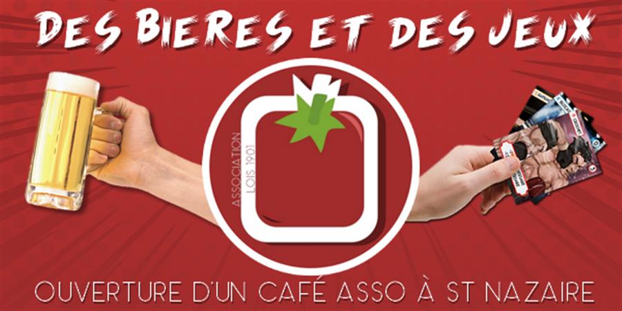 Ouverture d'un café associatif à Saint-Nazaire ! - L'Assos Tomate