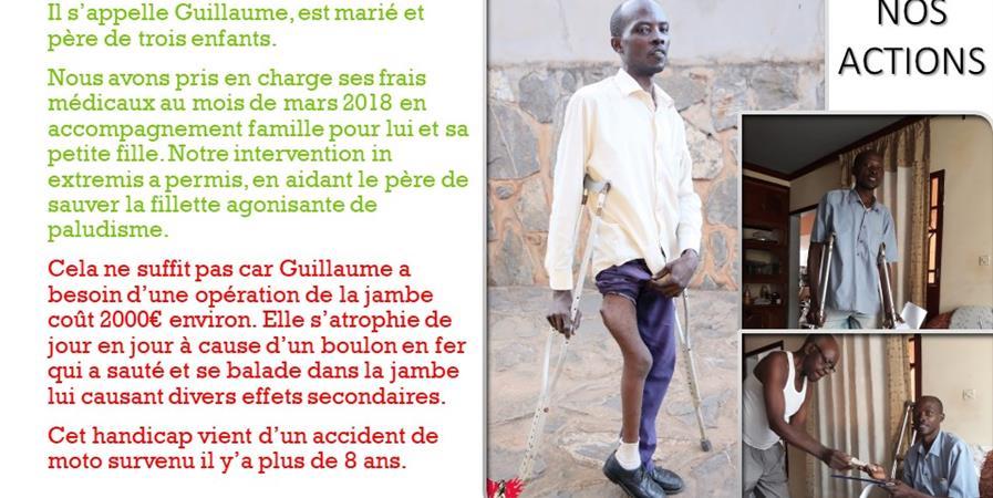 Solidarité pour Guillaume - NA HOPE