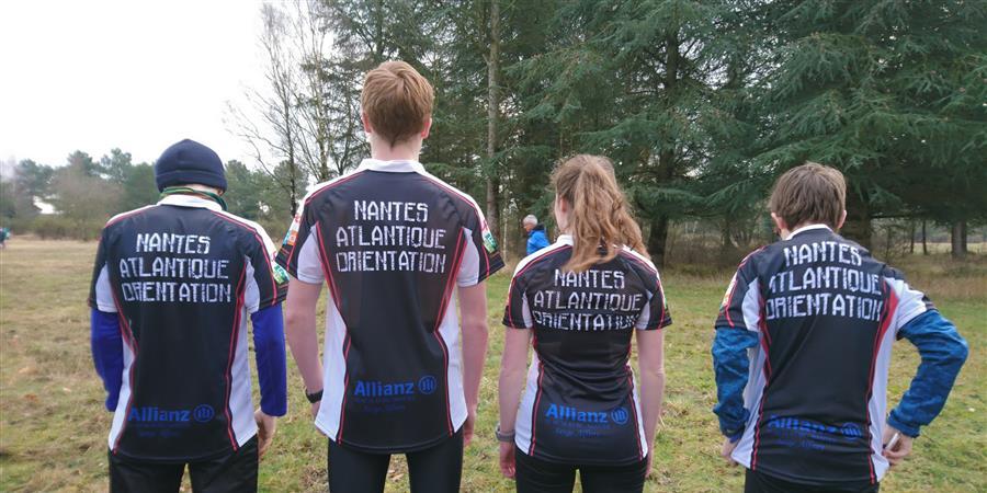J'achète un maillot du NANTES ATLANTIQUE ORIENTATION - NANTES ATLANTIQUE ORIENTATION