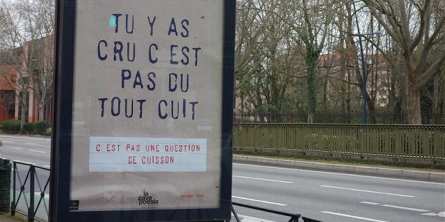 & VOILA LE TRAVAIL ! - CAVE POESIE DE TOULOUSE