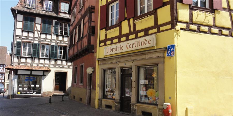 Colmar - Loyer Librairie Certitude 2020-2021 - La Maison de la Bible