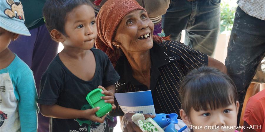 Campagne pour la scolarisation des enfants au Vietnam - Action Ethique Humanitaire