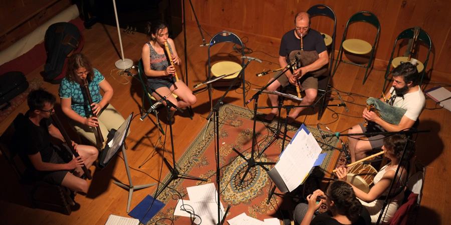 CD inédit flûtes et cornemuses de Danseries de la Renaissance - Compagnie Amalthée