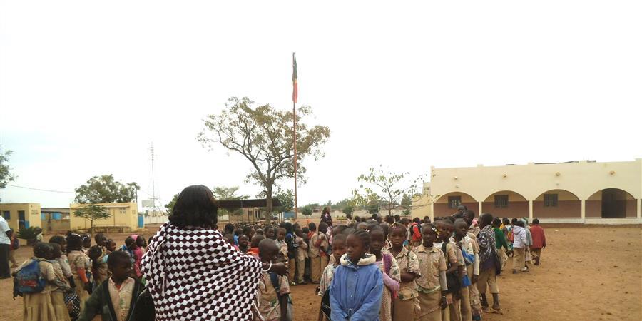 Pensionnat pour jeunes filles à Fana (Mali) - AMJD (Association Missions Jeanne Delanoue)