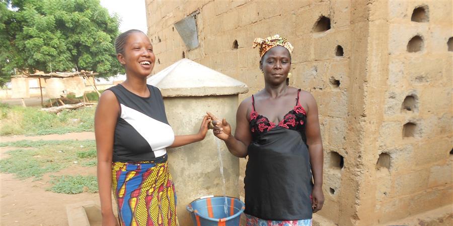 Réalisation d'un système  d'adduction d'eau dans 3 villages du Mali - DJAN-DJE