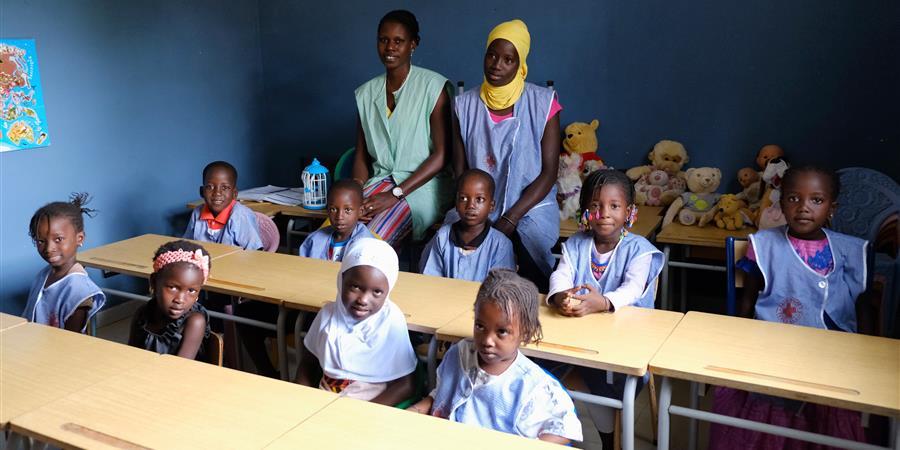 Jardin d'enfants « Adja Betty Faye » de la Croix-Rouge Sénégalaise de Mbour - Croix-Rouge française - UL de l'arrondissement de Saint-Omer