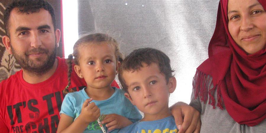 Aider la famille de Salah, survivant des bombardements d'Alep - Actions de Développement et d'Accompagnement des Mineurs
