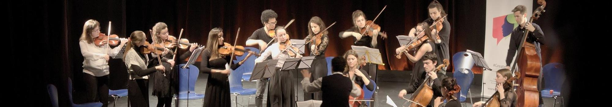 The GREATER EUROPE PEACE ORCHESTRA on tour in London -