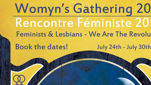 Womyn's gathering 2016 - Rencontre féministe 2016 - Education Féministe