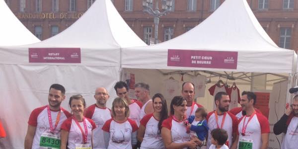 Petit Coeur de beurre au Marathon de Toulouse 2018 - PETIT COEUR DE BEURRE