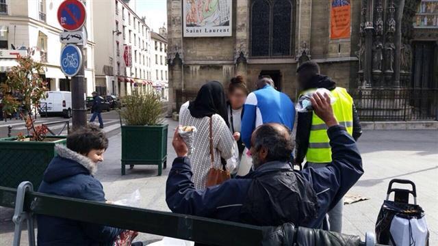 Distribution de paniers repas et kits d'hygiène  - B2S Besoin de Solidarité