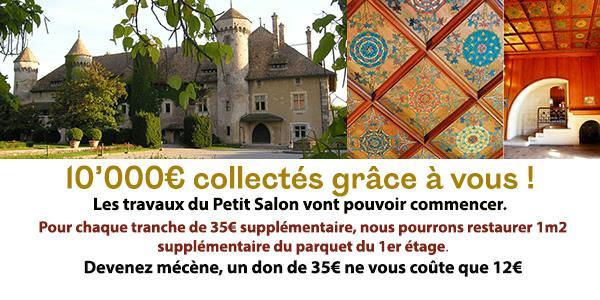 Restauration du château de Ripaille - joyau du patrimoine chablaisien - Fondation Ripaille