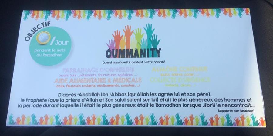 Votre enveloppe du Ramadan 1€/jour - Oummanity