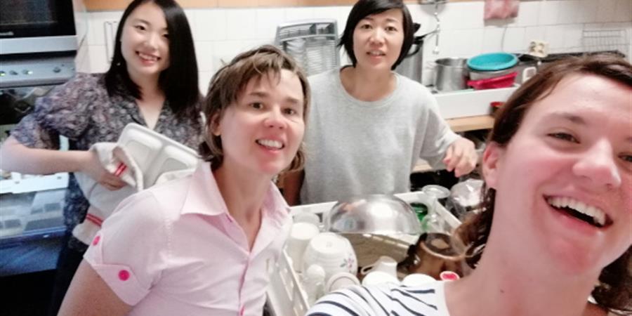 Une cuisine pratique tout en récup' - le café des pratiques