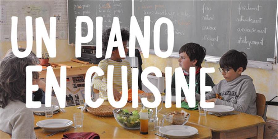 Un piano en cuisine - Jardin Novalis