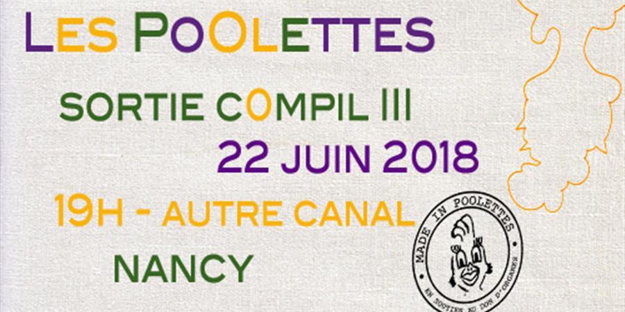 Les PoOlettes sortent leur compil III en Sensiblisation au Don d'Organes - Les PoOlettes
