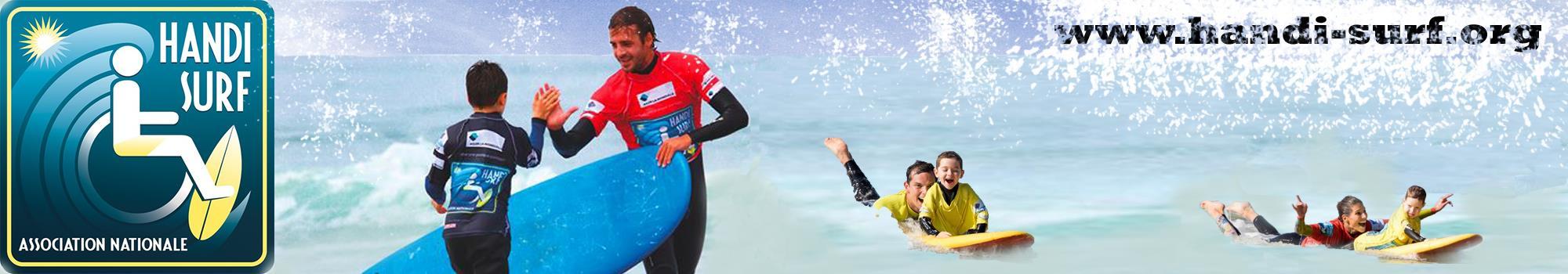 Handi Surf pour une pratique partagée ! - Association Nationale Handi Surf
