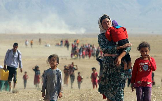 Aide aux réfugiés irakiens - osi