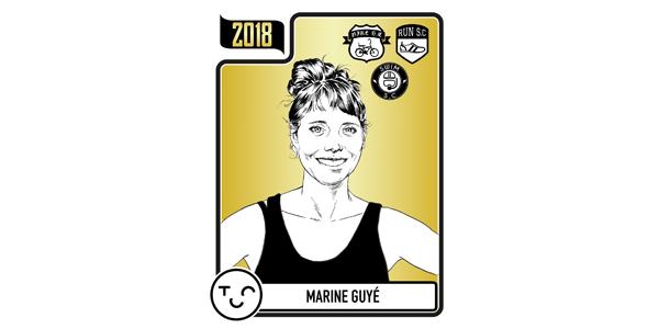Cagnotte annuelle de Marine Guyé - Triathletes contre le Cancer