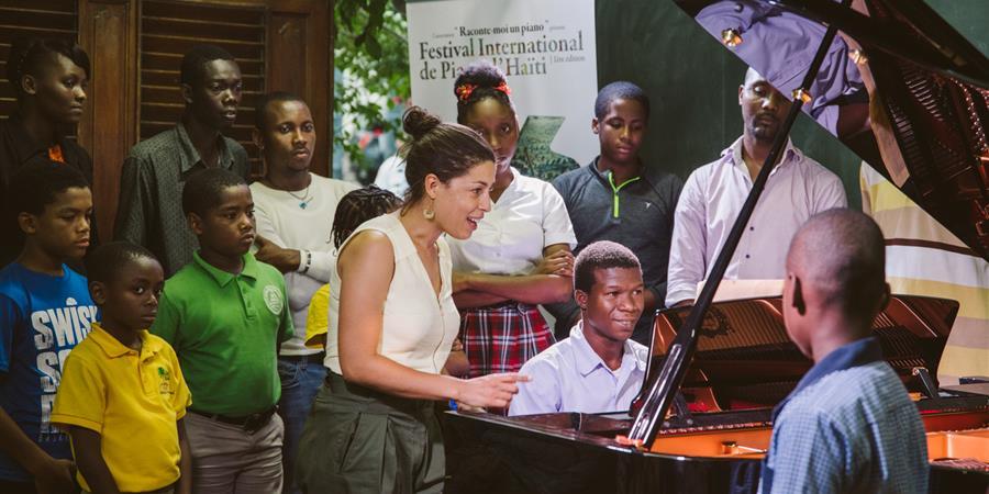 Haiti Piano Project - Haïti autrement ! - Raconte-moi un piano