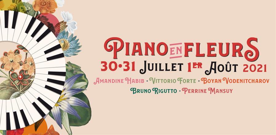 Festival Piano en Fleurs - Arts et Musiques