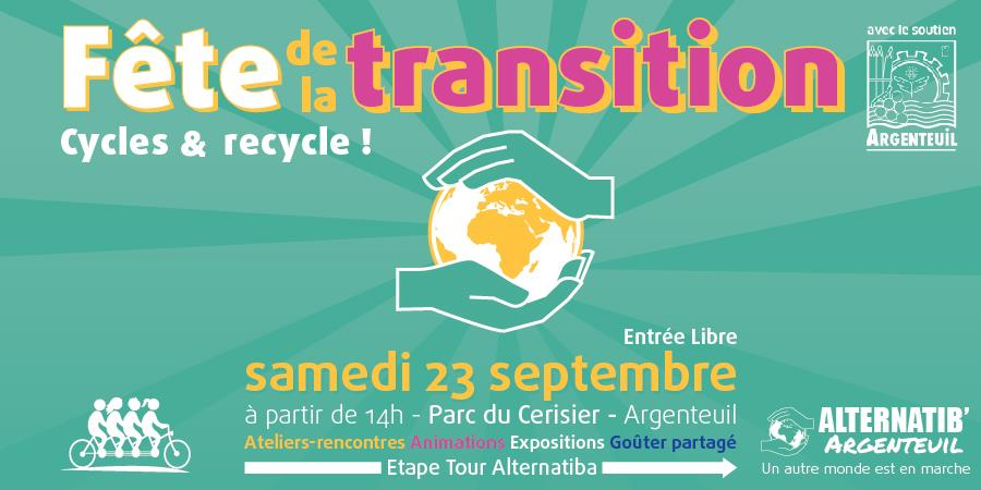 Fête de la transition : Cycles et Re-cycle ! - Alternatib'Argenteuil