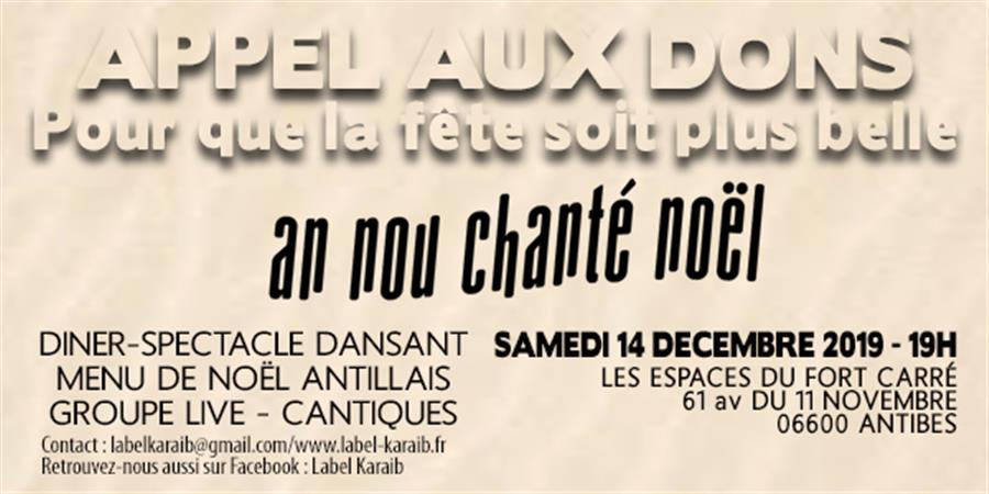 Chanté Noël 2019 - LABEL' KARAIB