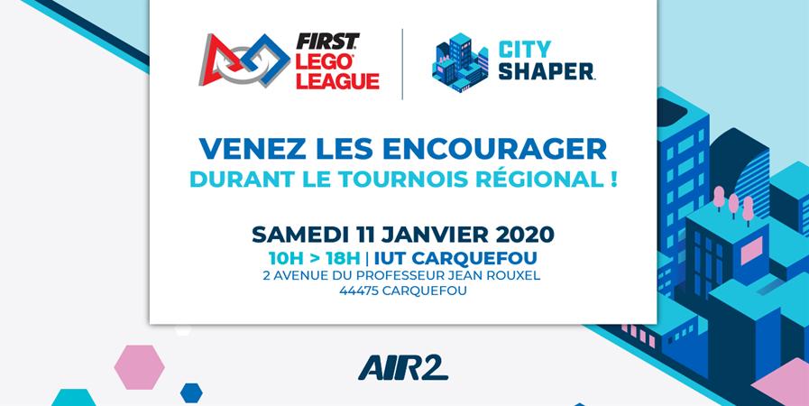 Compétition de robotique : Tournoi International First Lego® League (FLL) - Air 2