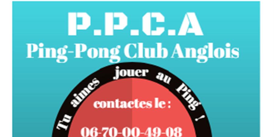 Promouvoir le tennis de table - ping pong club anglois