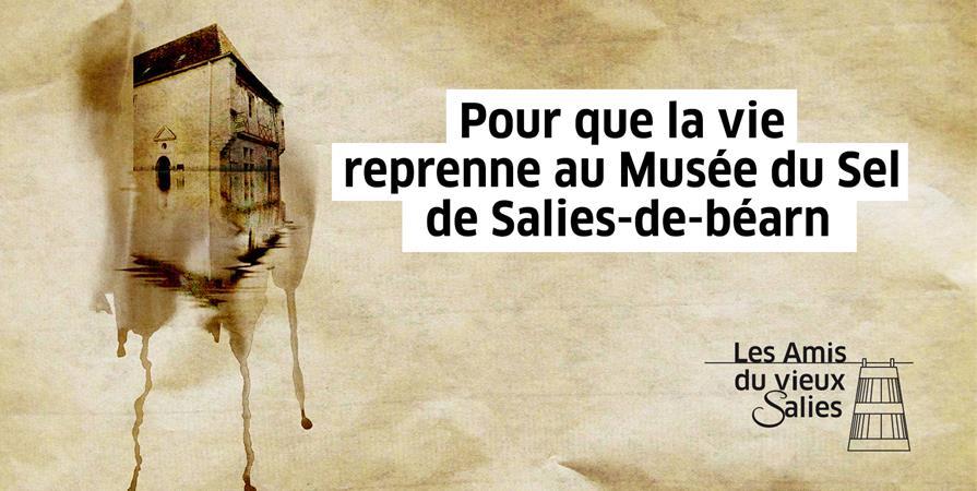 POUR QUE LA VIE REPRENNE AU MUSEE DU SEL DE SALIES-DE-BEARN - Amis du Vieux Salies