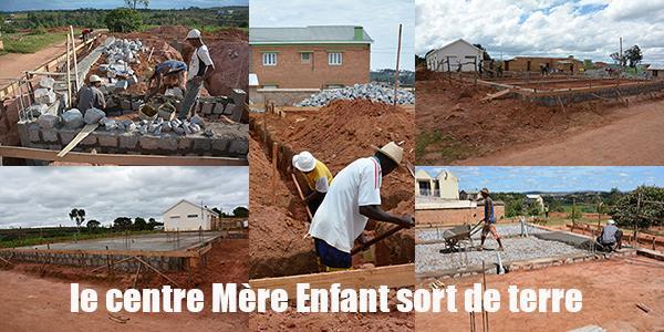 Projet ANJARASOA  réalisation du centre de santé Mère Enfant  - Association Madagascar Ici et Là-Bas
