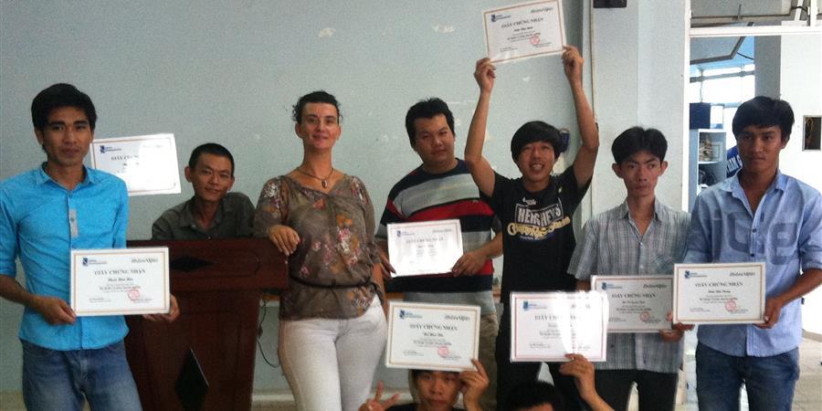Formation Professionnelle au Vietnam - Projet 360°C - Planète Enfants & Développement