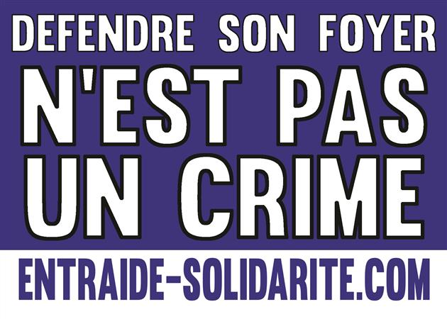Défendre son foyer n'est pas un crime ! - Entraide Solidarité Europe (ESE)