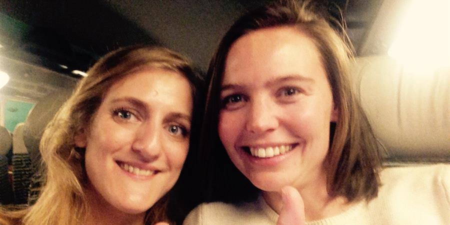 Charlotte et Elodie au Rallye Aïcha des Gazelles - Les Infirmières Aventurières