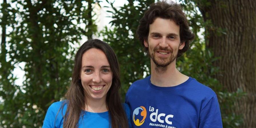 Flora et Damien, professeur et comptable au Cameroun - Délégation Catholique pour la Coopération